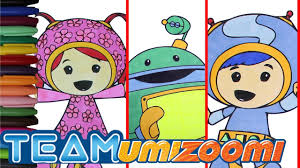 Small Picture Team Umizoomi Coloring Page Episode 13 Milli Geo and Bot