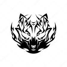 Tetování Tribal Vlk Stock Vektor Ipetrovic 46551847
