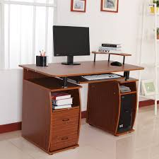 home computer furniture. Home Pc Desk New In Modern HOMCOM Wooden Office Computer PC Table Writing Furniture 71MU67FmfjL SL1500