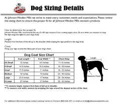 Dog Size Chart