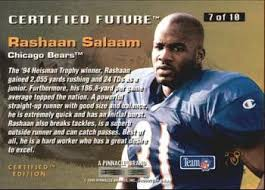 Image result for rashaan salaam