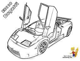 Cars coloringpage bugatti eb 110 at yescoloring