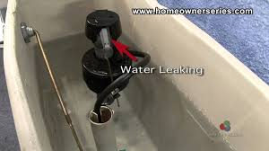 How To Fix A Toilet Diagnostics Internal Leaking YouTube - Bathroom leak repair