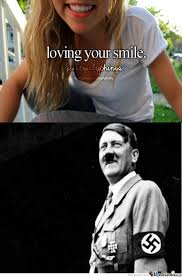 Hitler Has A Beautiful Smile ^^ by gaga200 - Meme Center via Relatably.com