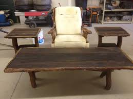 Rustic Coffee Table And End Tables Amazing Design
