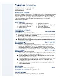 Alternative Resume Templates
