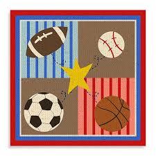sports canvas wall art i com