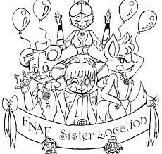 Fnaf Foxy Coloring Sheets Coloring Pages Five Nights At Foxy