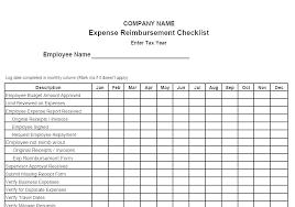 Reimbursement Form Templates Mileage Expense Template Fr Employee