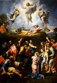 certainly raphael s iest painting the transfiguration also remains one of raphael s most controversial works due in no small part to the fact that it