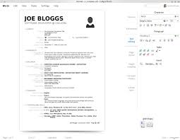 Resume Templates Libreoffice Resume Template Libreoffice Resume