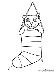 Small Picture Coloring Pages Christmas Stocking Filled With Gifts Coloring Page