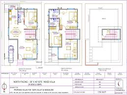 30 x 60 north facing house plans for plan for 40 x 60 plot