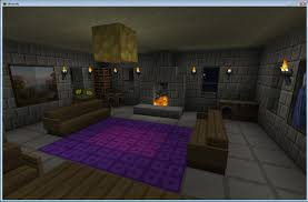 Minecraft Interior Design Living Room Living Room White Tile Flooring Idea With Living Room Minecraft