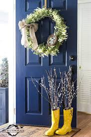 spring front door wreathsTop 50 DIY Spring Wreaths  I Heart Nap Time