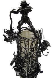Evil Robot Designs Alien Lamp Predator Vs Alien Lamp Action Figure Art One Of A Kind
