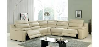power leather sectional ashley reclining sofa in beige