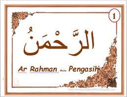 Contoh tulisan kaligrafi asmaul husna ar rahim arrahim dapat dicetak. Asmaul Husna Kaligrafi Sederhana Dan Lengkap Bag 1 1 33