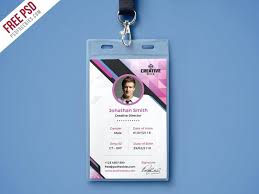company id card templates download id card template