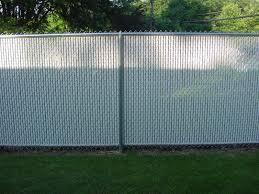 Exellent Chain Link Fence Slats Image Of With Decorating Ideas