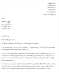 Designer Cover Letter Sample Graphic Designer Cover Letters Free