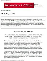how to write a modest proposal professional resume cover letter how to write a modest proposal how to write a modest proposal enotes modest proposal jonathan
