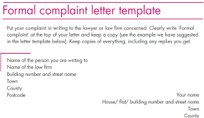 Sample Complaint Letter Against A Lawyer Insaat Mcpgroup Co