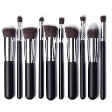 types of makeup brushes. make up brushes tool 10 pcs makeup set classic matte black brush maquillage foundation cosmetic tool-in underwear from mother \u0026 kids types of b