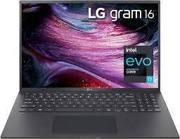 Buy LG LCD Laptop 16 WGXGA (2560x1600) Ultra-Lightweight (2.6 lbs), 11th  gen CORE i7, 16GB RAM, 256GB SSD, C Port, USB-A, HDMI, microSD, Audi Jack,  22 Hr Battery Life - Black 2021,