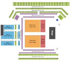 Hall Of Fame Concert Seating Chart International Tennis Hall Of Fame Seating Charts For All