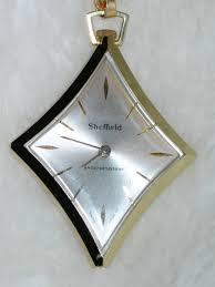 vintage pendant watch large