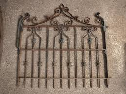 wrought iron fence victorian. #3 Antique Ornate Victorian WROUGHT IRON FENCE GATE Garden Salvage Wrought Iron Fence Victorian