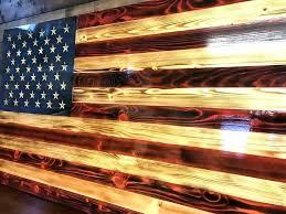 metal and wood american flag flag wall decor traditional wood flag patriotic decor flag wall hanging metal and wood american flag freedom  on american flag wall art wood and metal with metal and wood american flag rustic flag wall art dream brown