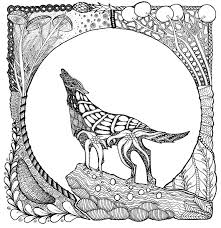 This animal is familiar to all children according to numerous fairy tales, fables and, of course. Wolf Coloring Pages For Adults Best Coloring Pages For Kids