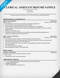 11 clerical assistant resume sample riez sample resumes sample clerical assistant resume