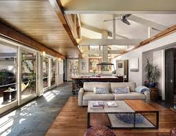 Interior Designers Northern California Leed Platinum Contemporary Ranch House In Northern California