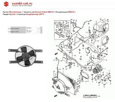 suzuki sidekick wiring diagram discover your wiring geo tracker a c condenser fan relay location on wiring diagrams