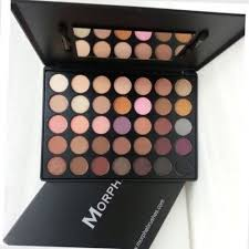 35w morphe palette. morphe brushes 35w warm eyeshadow palette new with 35 full colors *authentic*