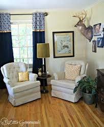curtains for home office. A Southern Gentleman\u0027s Home Office: Transform Your Space With Tons Of DIY Office Decorating Curtains For C
