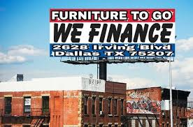 FURNITURE TO GO 2628 IRVING BLVD DALLAS TX no credit check