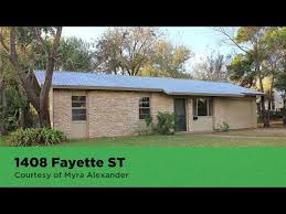 1408 Fayette ST Bastrop, TX 78602 | Myra Alexander | Search Homes for Sale  - YouTube