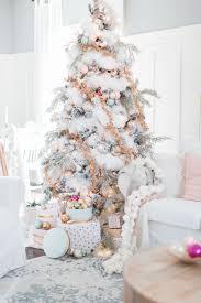 Pastell Weihnachtsdekor Rosa Weihnachtsbaum Thematische