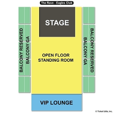 Rave Eagles Club Seating Chart Rose Bowl Seat Online Charts Collection