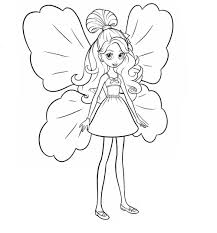 Barbie Thumbelina Coloring Page 19 Is