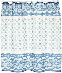 carnation home fashions south beach fabric shower curtain