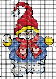 Free Cross Stitch Chart Snowman Free Cross Stitch Charts