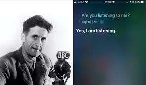 George Orwell Predicted Cameras Would Watch Us In Our Homes He