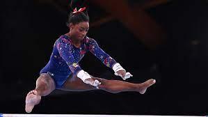 Olympics Gymnastics-Simone Biles on ...