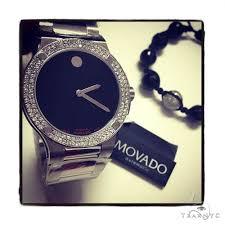 movado diamond watch mens movado stainless steel