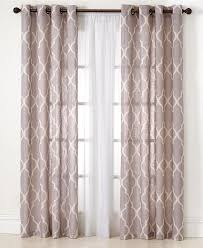 Macys Curtains For Living Room Elrene Medalia Window Treatment Collection Fashion Window